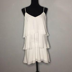 Show Me Your Mumu Chiffon Layer Valerie Mini Dress